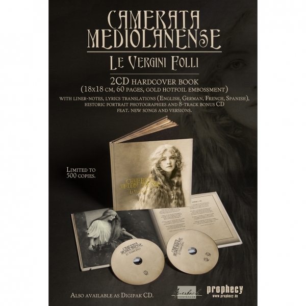 Camerata Mediolanense - Le Vergini Folli Book 2-CD