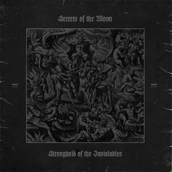 Secrets Of The Moon - Stronghold Of The Inviolables Vinyl Gatefold LP (black)