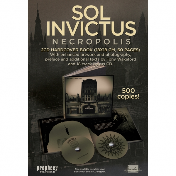 Sol Invictus - Necropolis Book 2-CD