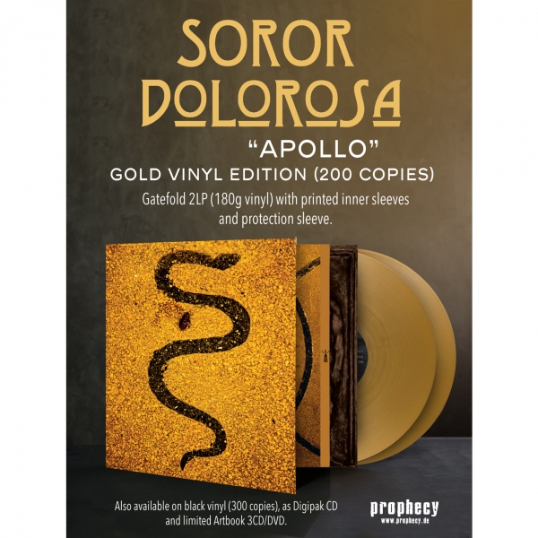 Soror Dolorosa - Apollo Vinyl 2-LP Gatefold (gold)