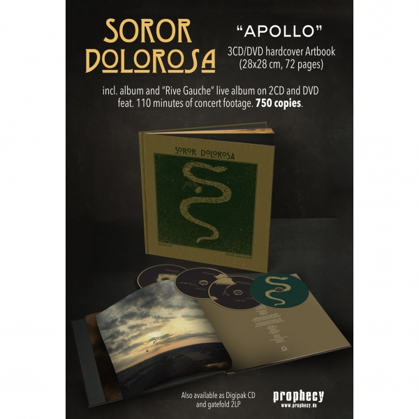 Soror Dolorosa - Apollo Artbook 3CD+DVD