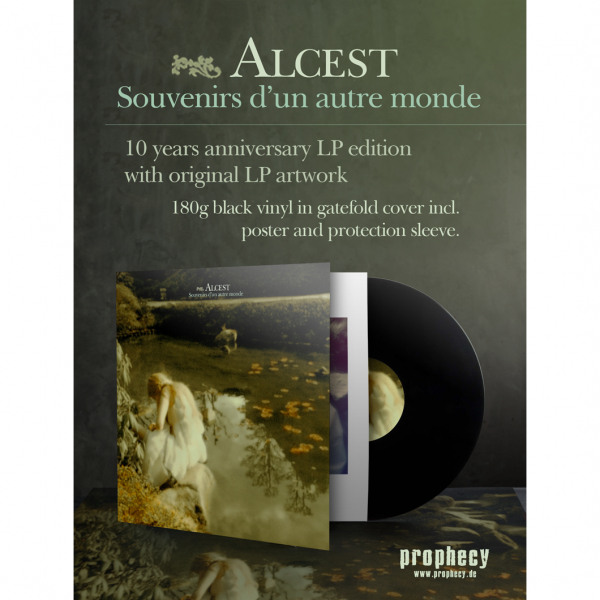 Alcest - Souvenirs d'un autre monde Vinyl Gatefold LP | Black | PRO 090 LPX