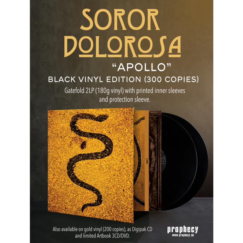 Prophecy Us Soror Dolorosa Apollo Vinyl 2 Lp Gatefold