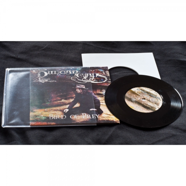 "Duncan Evans - Bird Of Prey Vinyl 7"" (black)"