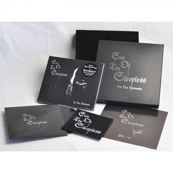 Sun Of The Sleepless - To The Elements CD-2 Box