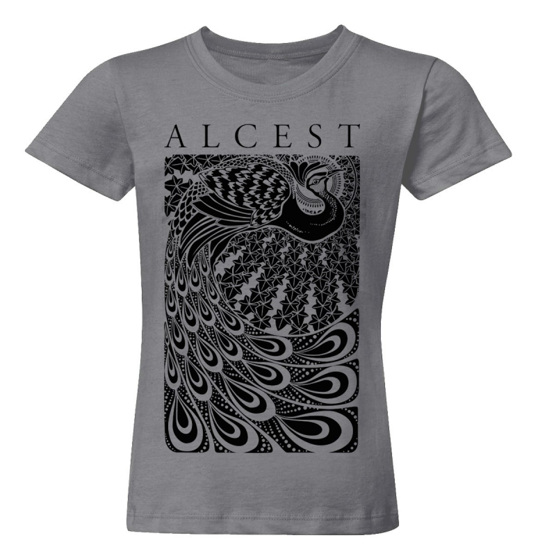 Alcest - Paon T-Shirt  |  L  |  charcoal