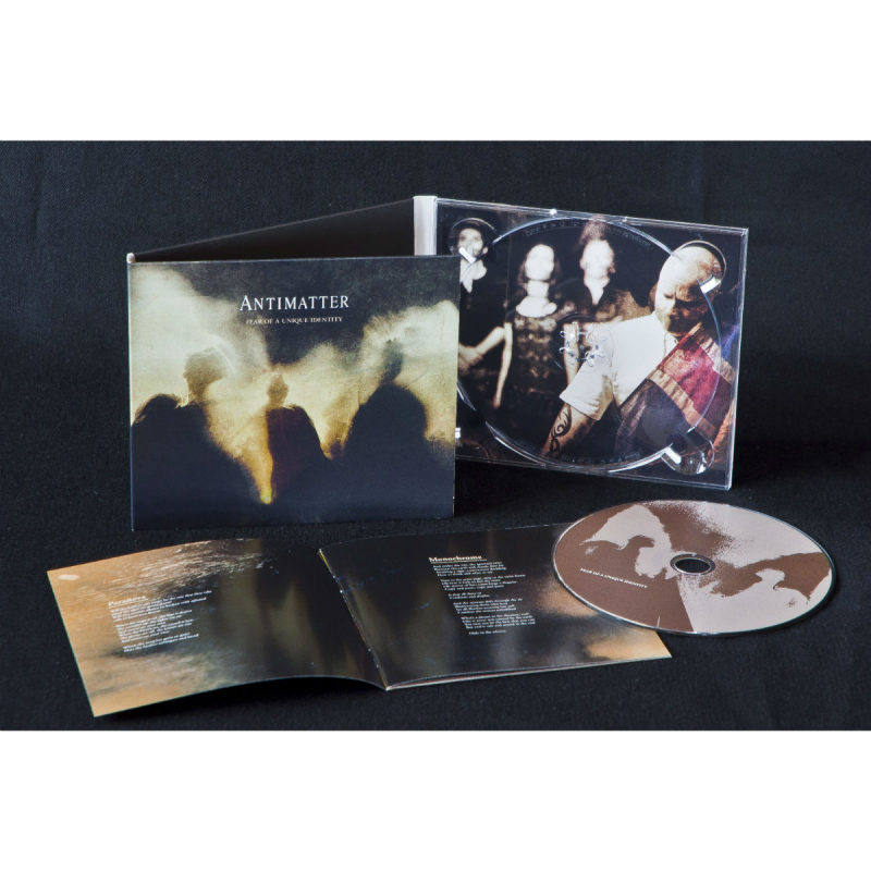 Antimatter - Fear Of A Unique Identity Artbook 2CD+DVD