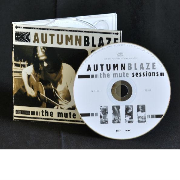 Autumnblaze - The Mute Sessions CD Digipak