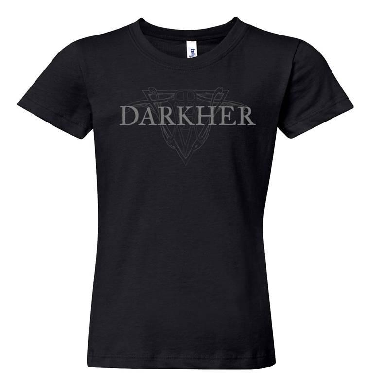 Darkher - Logo Girlie-Shirt  |  M  |  black