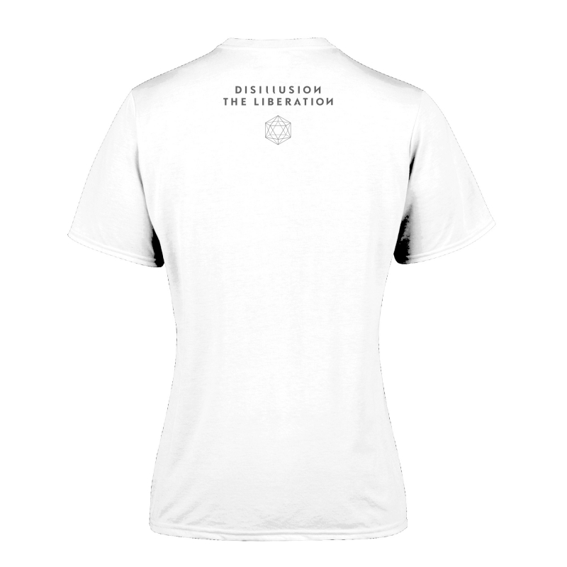 Disillusion - The Liberation Girlie-Shirt  |  S  |  White