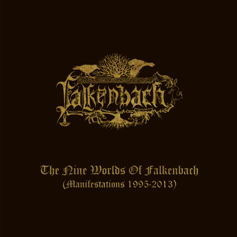 Falkenbach - The Nine Worlds Of Falkenbach (Manifestations 1995-2013) CD-9 Box