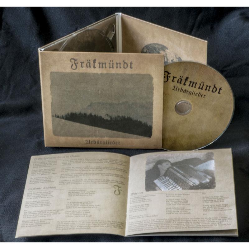 Fräkmündt - Urbärglieder CD Digipak