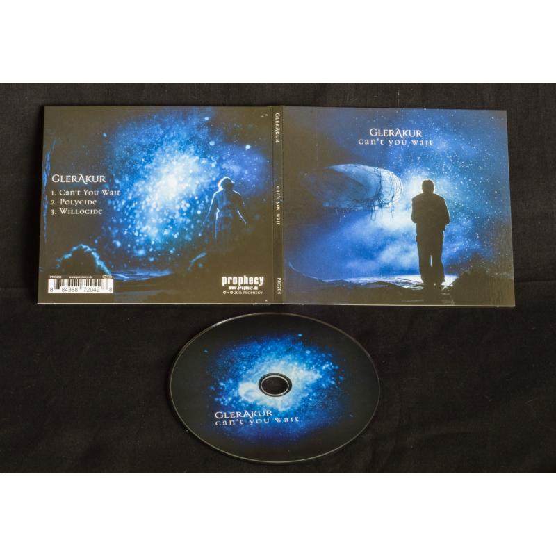 GlerAkur - Can't You Wait CD MCD Digipak