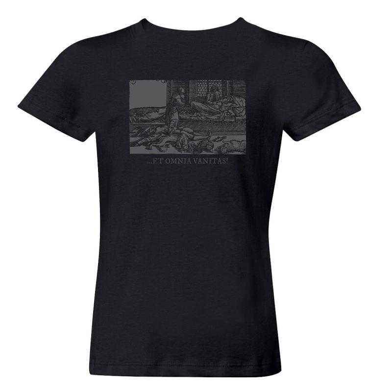 Helrunar - Vanitas Vanitatvm Girlie-Shirt  |  L  |  black