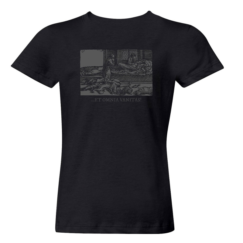 Helrunar - Vanitas Vanitatvm Girlie-Shirt     M     black