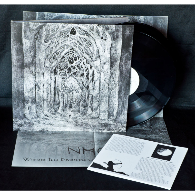 Nhor - Within The Darkness Between The Starlight Vinyl 2-LP Gatefold  |  Black