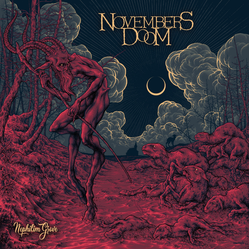 Novembers Doom - Nephilim Grove Vinyl 2-LP Gatefold  |  Red