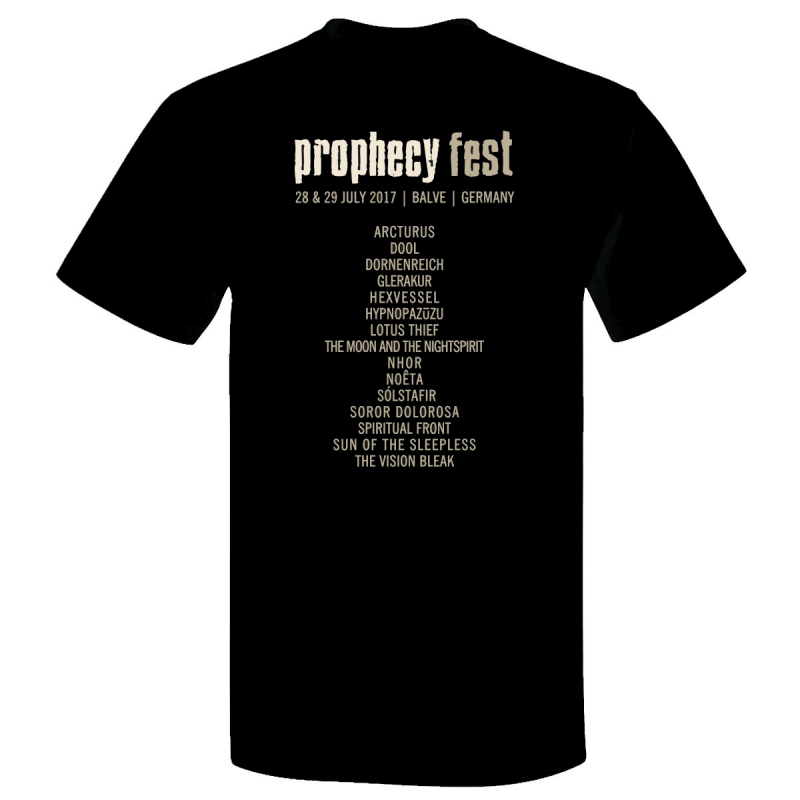 Prophecy - Prophecy Fest 2017 Girlie-Shirt     L