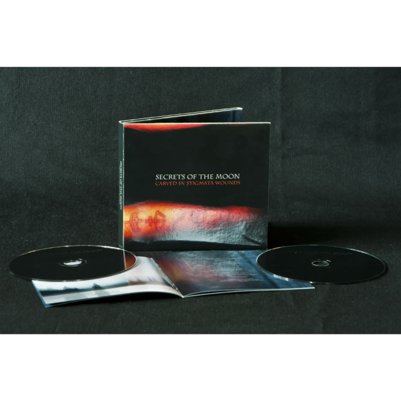 Secrets Of The Moon - Carved In Stigmata Wounds CD