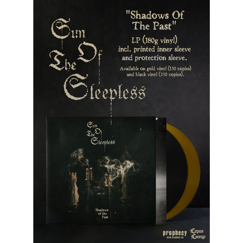 Sun of the Sleepless - Shadows Of The Past Vinyl  |  black