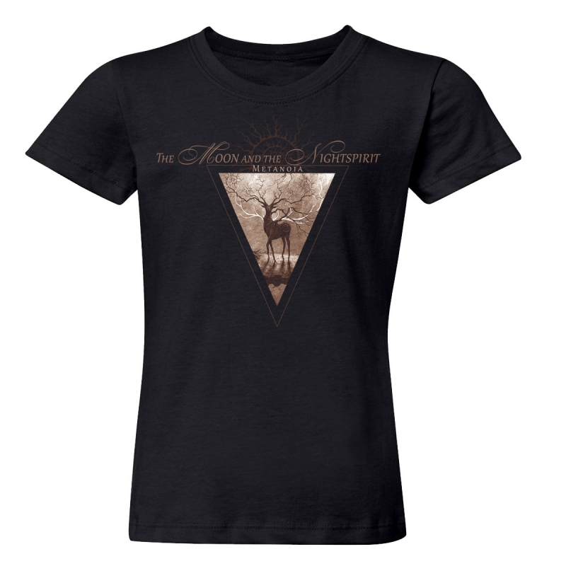 The Moon And The Nightspirit - Metanoia Girlie-Shirt  |  S  |  black