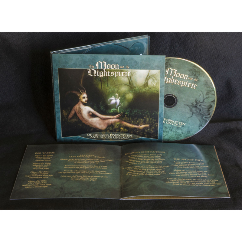 The Moon And The Nightspirit - Of Dreams Forgotten And Fables Untold CD Digipak