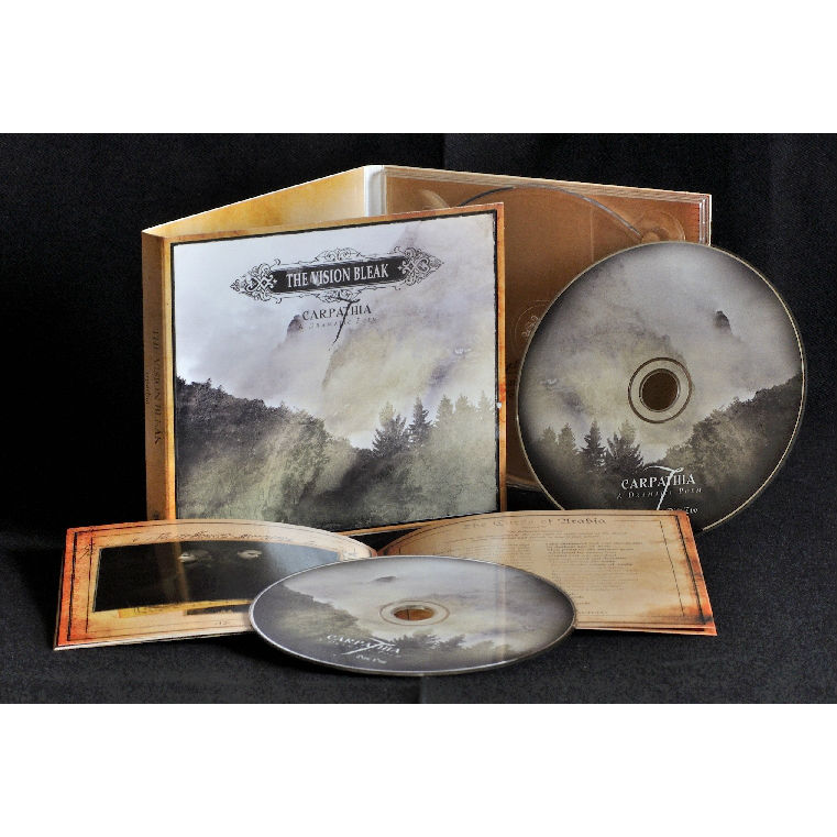 The Vision Bleak - Carpathia CD-2 Digipak
