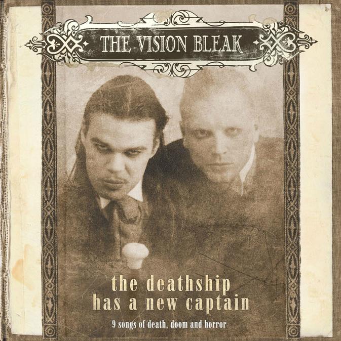 The Vision Bleak - The Deathship Has A New Captain CD-2 Digipak