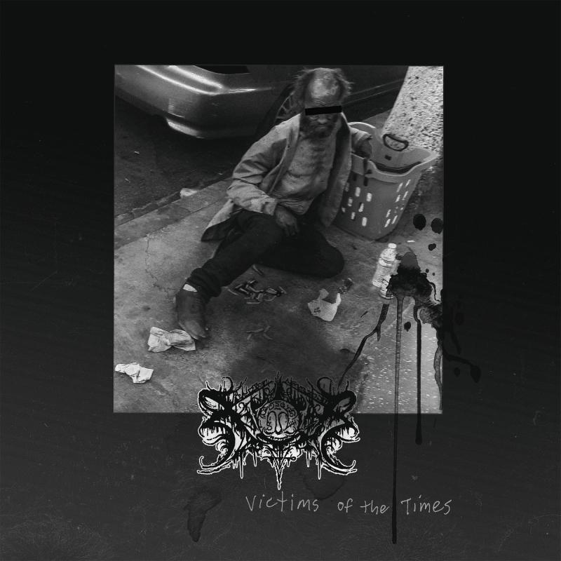 Xasthur - Victims of the Times Vinyl 2-LP Gatefold  |  Gold