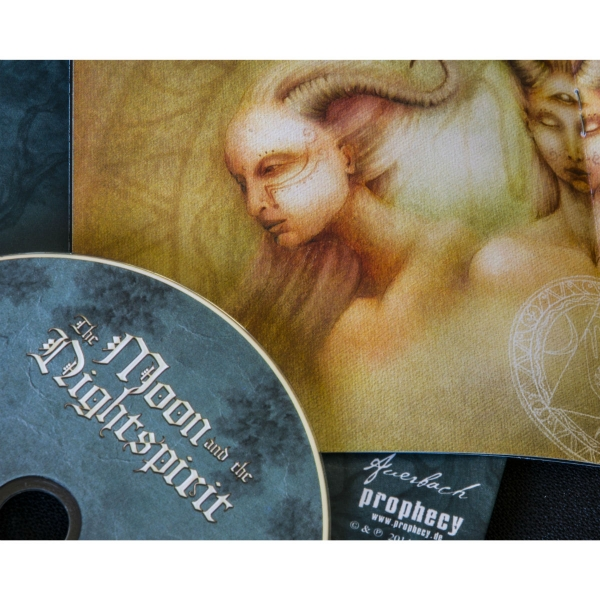 The Moon And The Nightspirit - Holdrejtek CD Digipak
