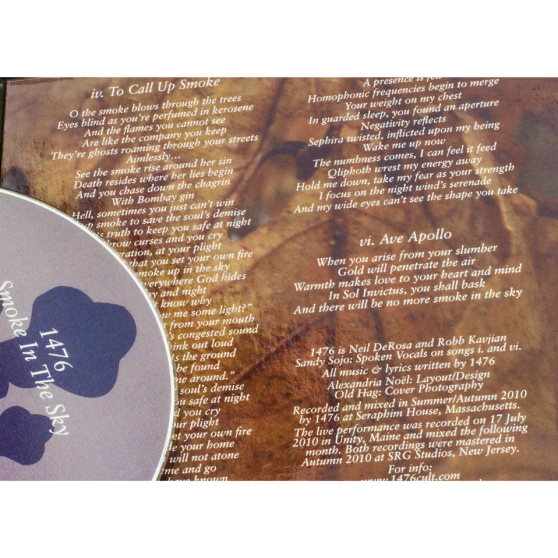 1476 - Smoke In The Sky CD Digipak