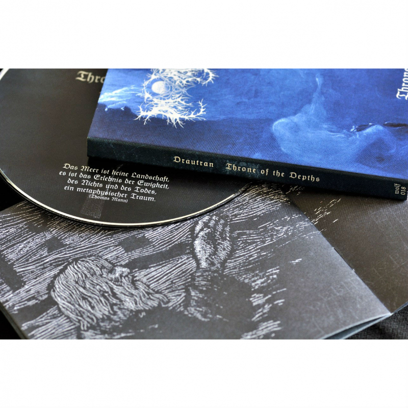 Drautran - Throne Of The Depths CD Digipak