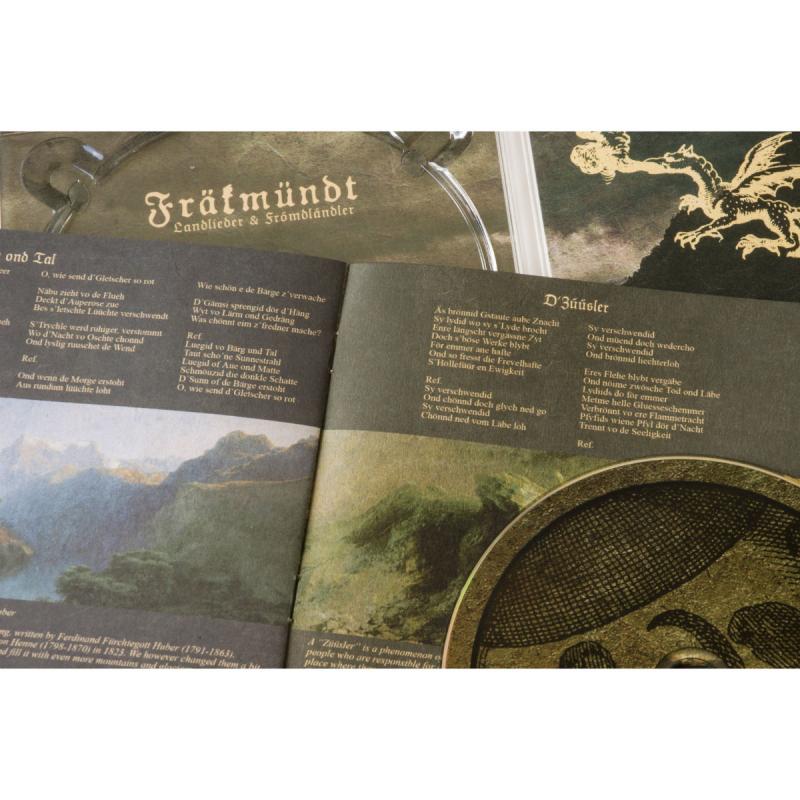 Fräkmündt - Landlieder & Frömdländler Vinyl Gatefold LP  |  black