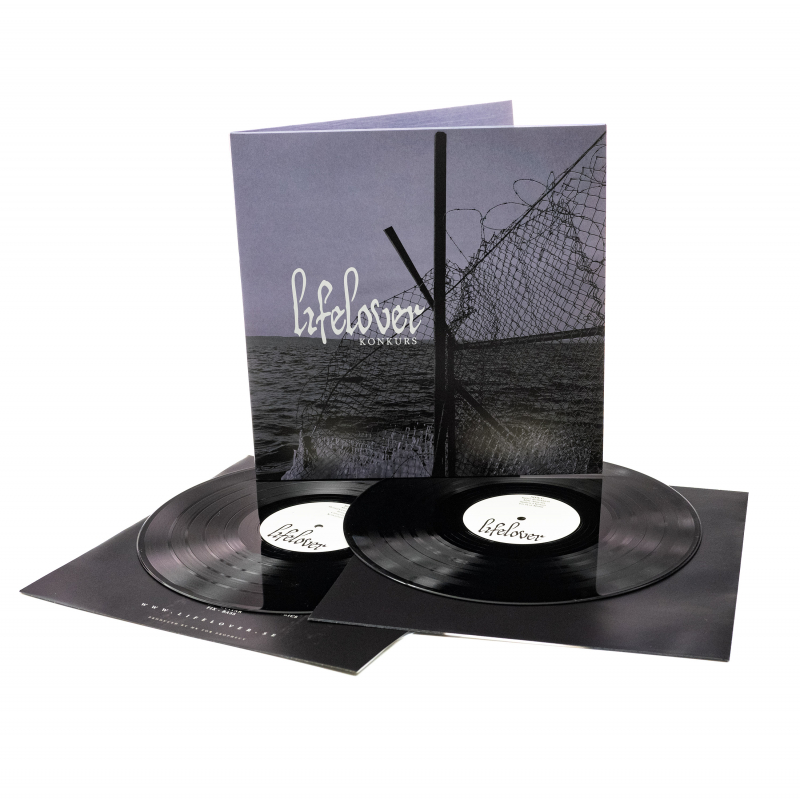 Lifelover - Konkurs Vinyl 2-LP Gatefold  |  black
