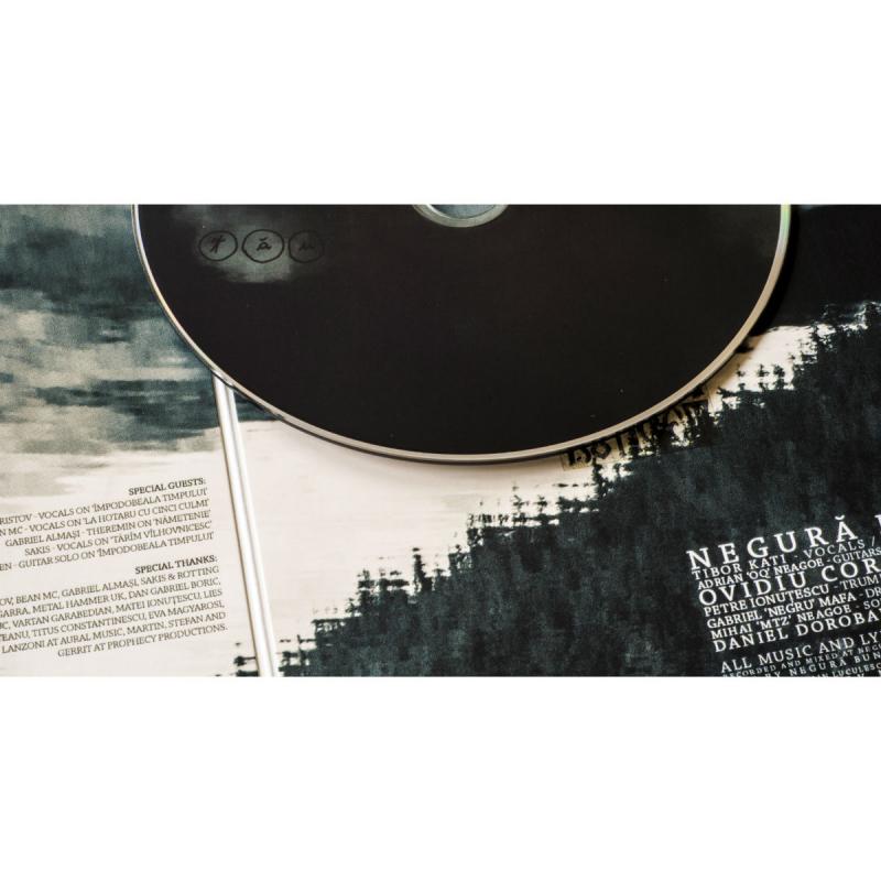 Negura Bunget - Tau Vinyl Gatefold LP  |  white