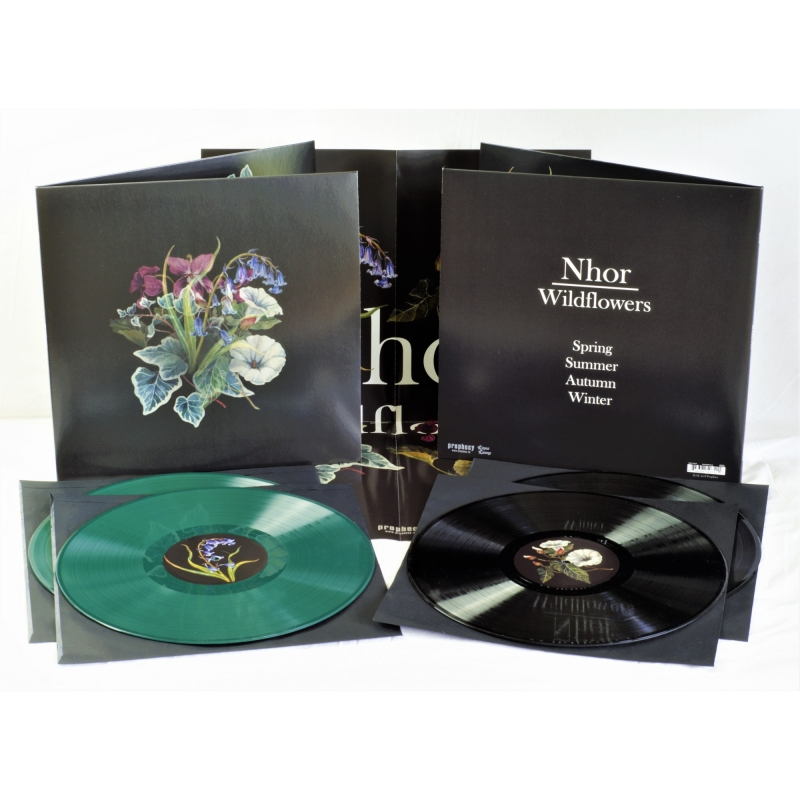 Nhor - Wildflowers Vinyl 2-LP Gatefold  |  Green