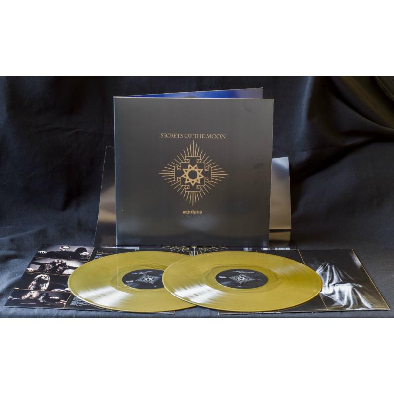 Secrets Of The Moon - Antithesis Vinyl 2-LP Gatefold     gold