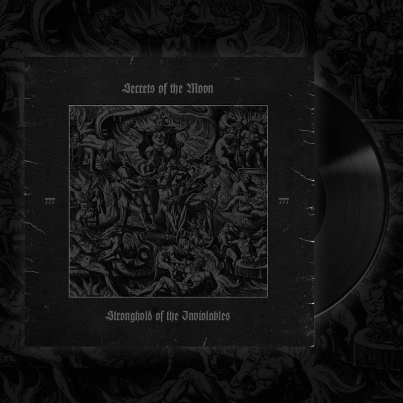 Secrets Of The Moon - Stronghold Of The Inviolables / Thelema Rising CD Digipak