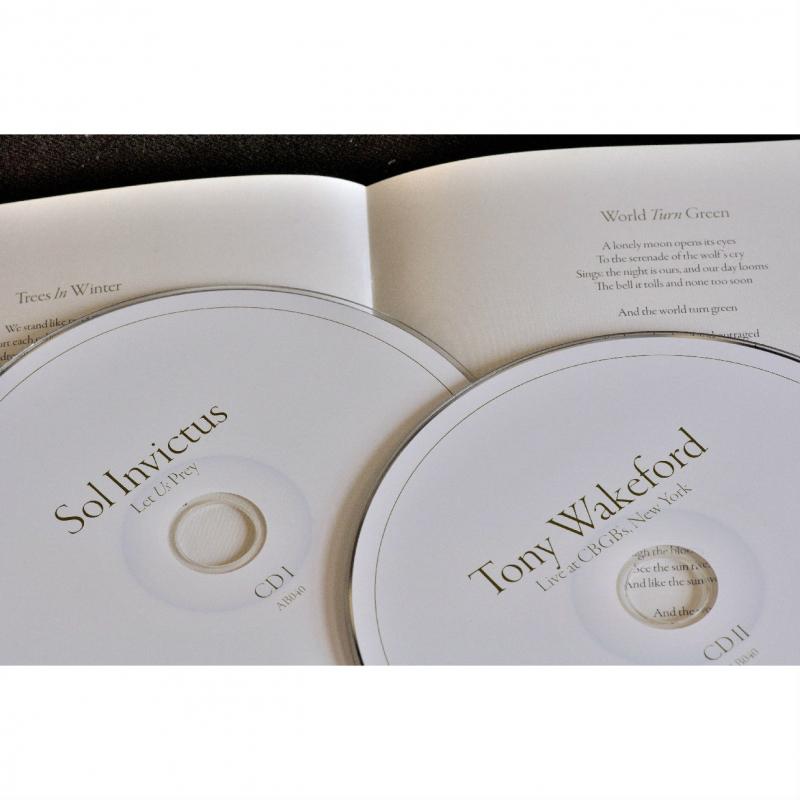 Sol Invictus - Let Us Prey CD-2 Digipak