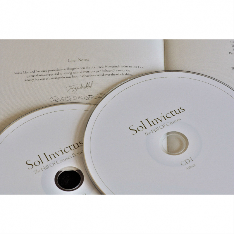 Sol Invictus - The Hill of Crosses CD-2 Digipak