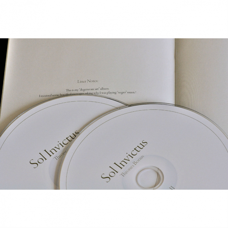 Sol Invictus - Thrones CD-2 Digipak