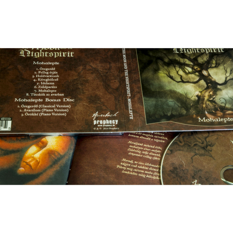The Moon And The Nightspirit - Mohalepte CD-2 Digipak