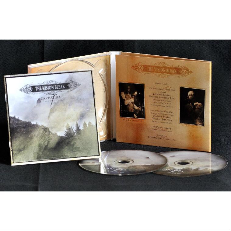 The Vision Bleak - Carpathia CD-2 Digipak