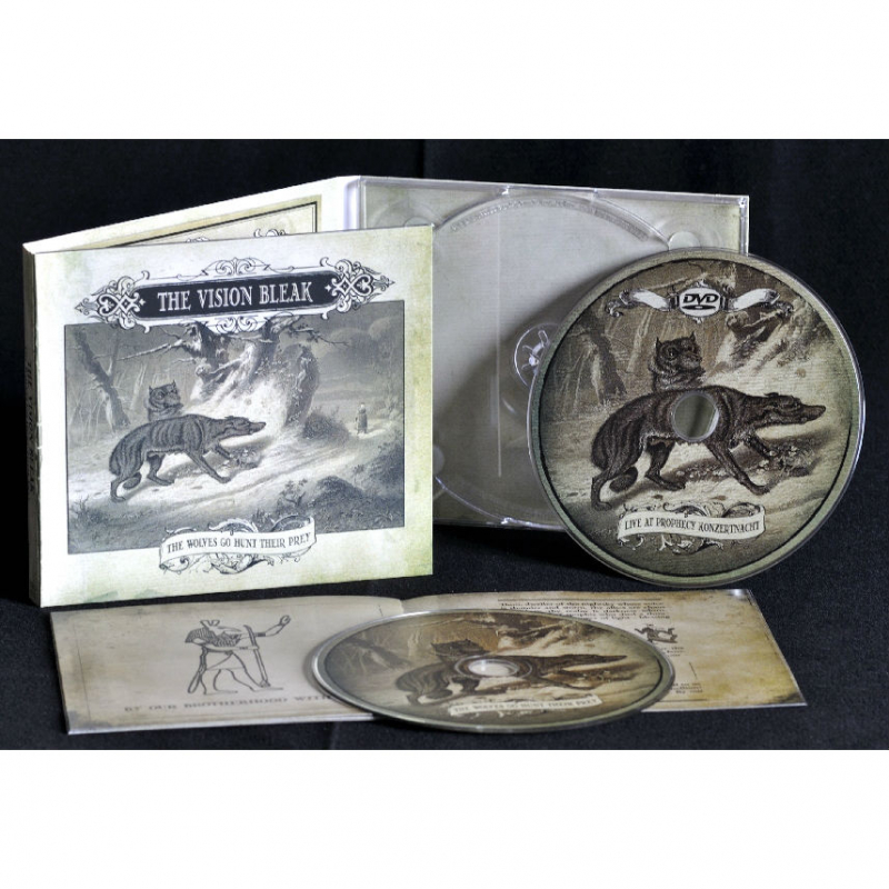 The Vision Bleak - The Wolves Go Hunt Their Prey CD