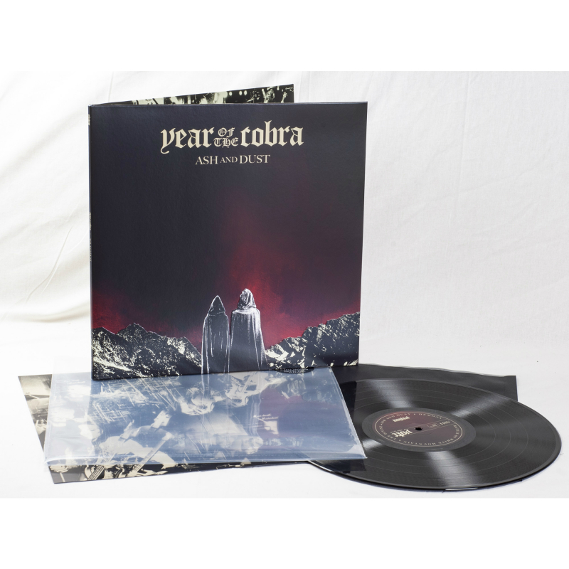 Year Of The Cobra - Ash And Dust Vinyl Gatefold LP  |  Black