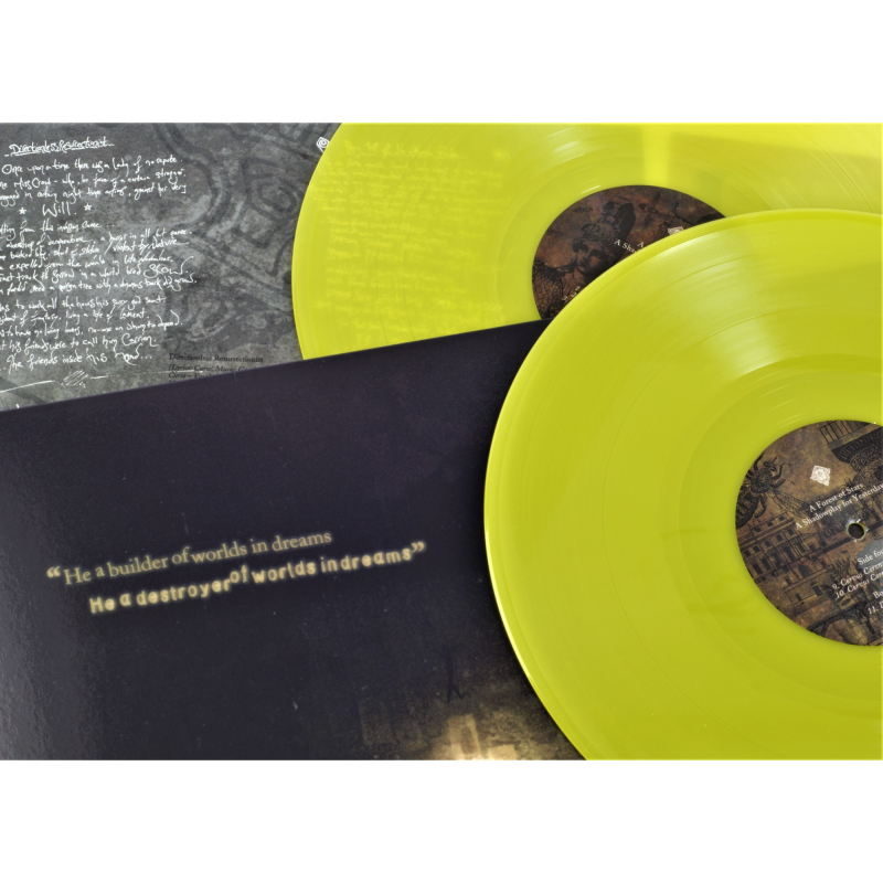 A Forest Of Stars - A Shadowplay For Yesterdays Vinyl 2-LP Gatefold  |  yellow