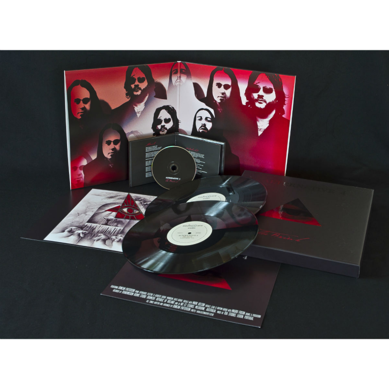 Alternative 4 - The Brink CD-2+DVD Digipak
