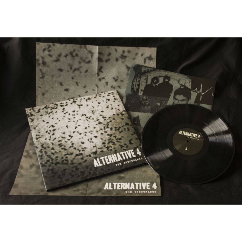 Alternative 4 - The Obscurants Vinyl Gatefold LP  |  black