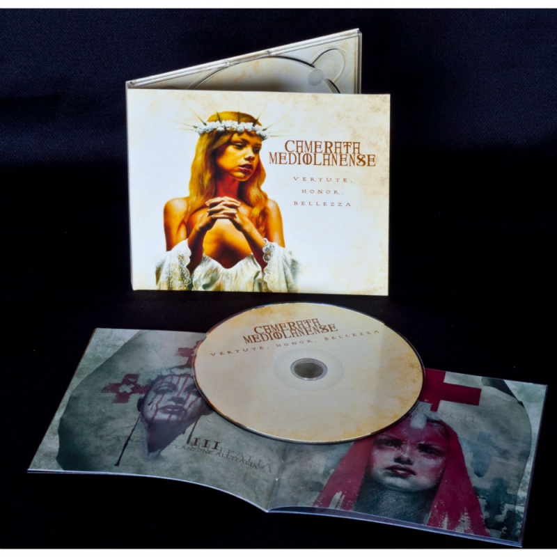 Camerata Mediolanense - Vertute, Honor, Bellezza CD Digipak