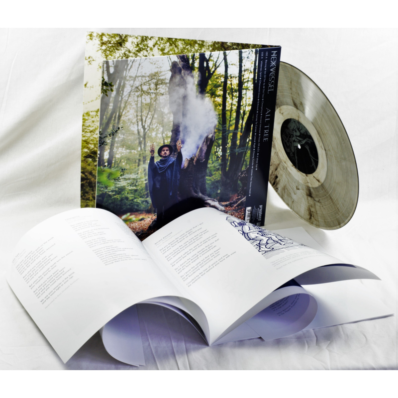 Hexvessel - All Tree Vinyl Gatefold LP     Clear-black marble